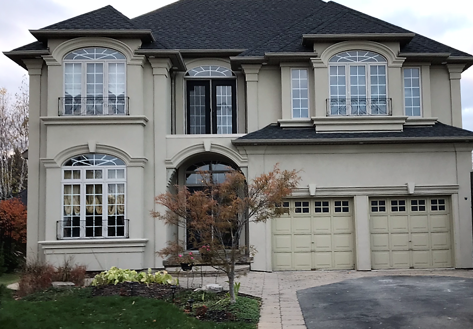 why Hight-end homes choose exterior stucco