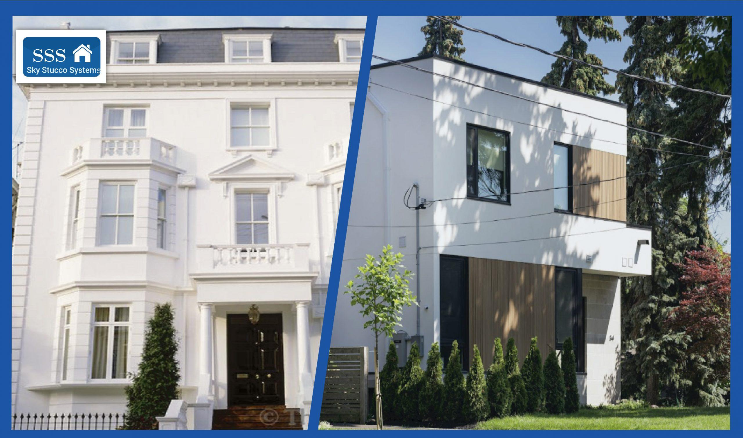 house - Exterior stucco home Ontario Sky Stucco Systems
