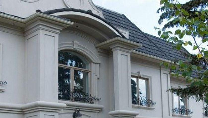 Exterior Porch Design And Architectural Molding Columns